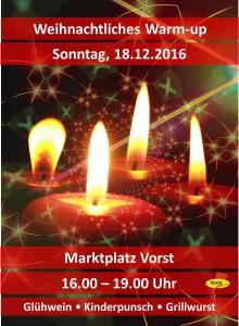 Weihnachtliches Warm-up @ Marktplatz Vorst  | Tönisvorst | Nordrhein-Westfalen | Deutschland
